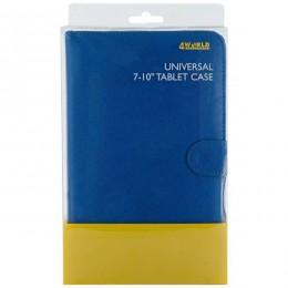4World futrola sa postoljem za tablet 7-10'' plava