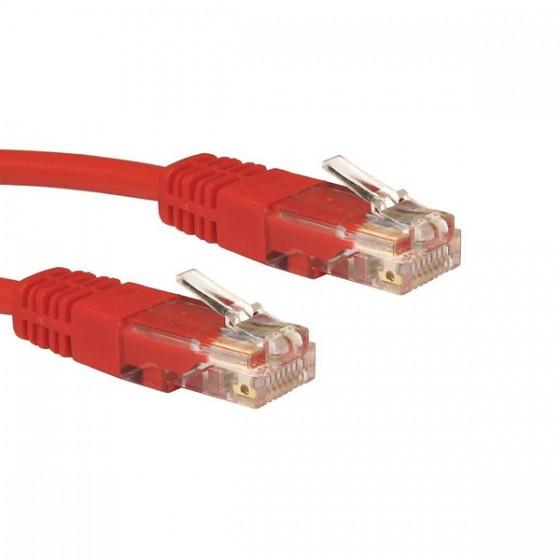 Wiretech kabal UTP 3m, crveni