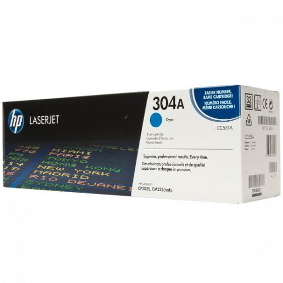 HP Toner CC531A (304A) Cyan