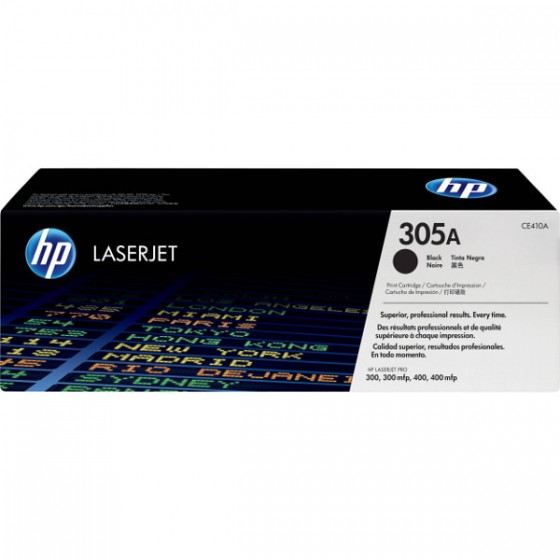 HP Toner CE410A (No.305A) Black