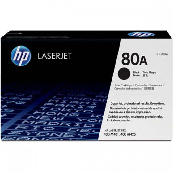 HP Toner CF280A (80A) Black