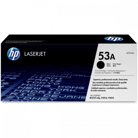 HP Toner Q7553A (53A) Black