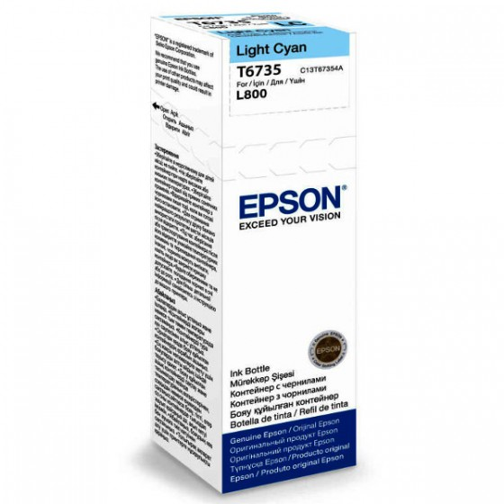 Epson Tinta T6735 Light Cyan