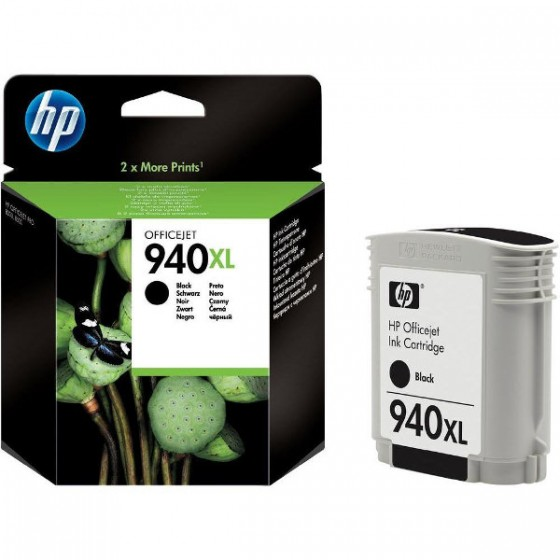 HP Tinta C4906AE (No.940XL) Black