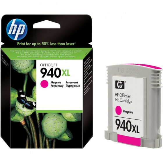 HP Tinta C4908AE (No.940XL) Magenta