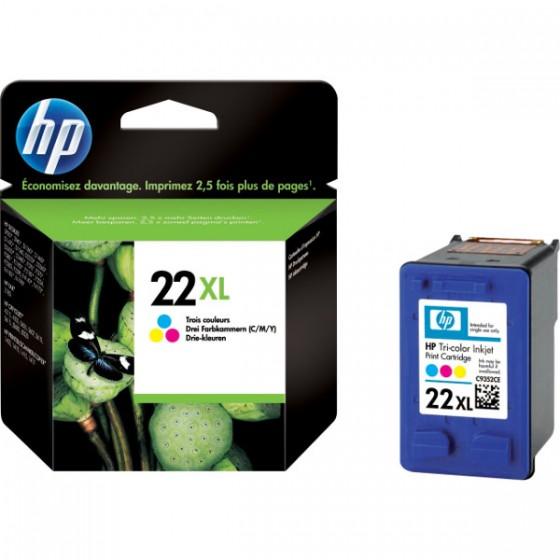 HP Tinta C9352CE (No.22XL) Color