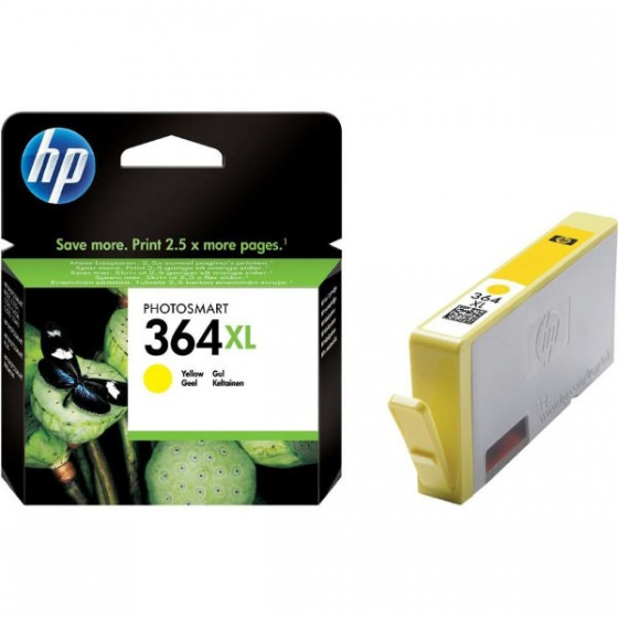 HP Tinta CB325EE (No.364XL) Yellow