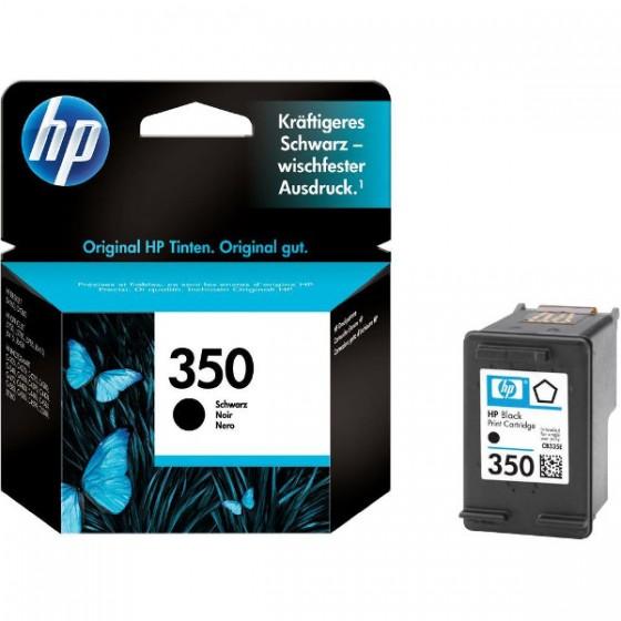HP Tinta CB335EE (no.350) Black