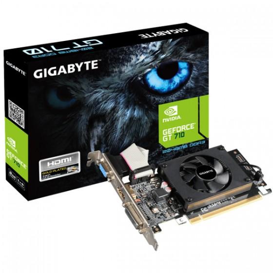 Gigabyte nVidia GeForce GT710 2GB DDR3, GV-N710D3-2GL