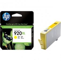 HP Tinta CD974AE (No.920XL) Yellow