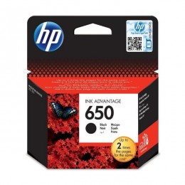 HP Tinta CZ101AE (No.650) Black