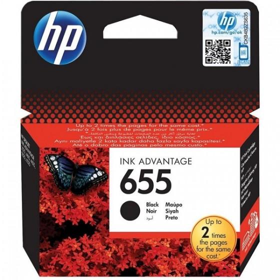 HP Tinta CZ109AE (No.655) Black