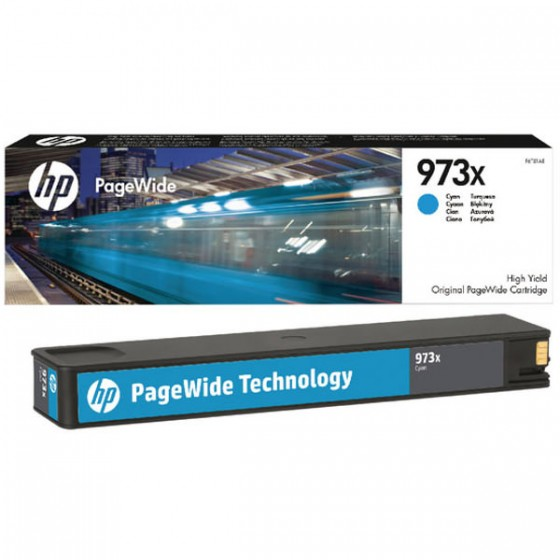 HP tinta No.973X Cyan (F6T81AE)