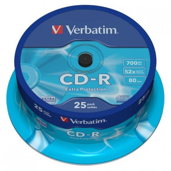 Verbatim CD-R 700MB 52x DataLife Wagon 25/1 (V043432)