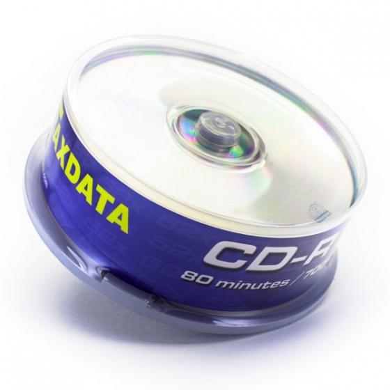 Traxdata CD-R 25/1 u kutiji, 52X, 700MB