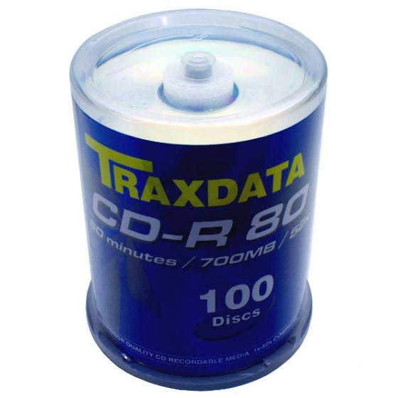 Traxdata CD-R CAKE 100