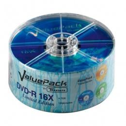 Traxdata DVD-R SP25 VALUEPACK 16X