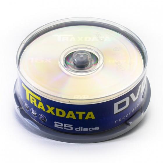 Traxdata DVD-R 25/1 u PVC kutiji