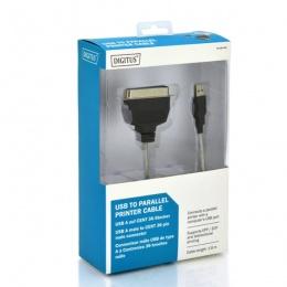 Digitus Kabal USB/LPT 1,8m, DC USB-PM1