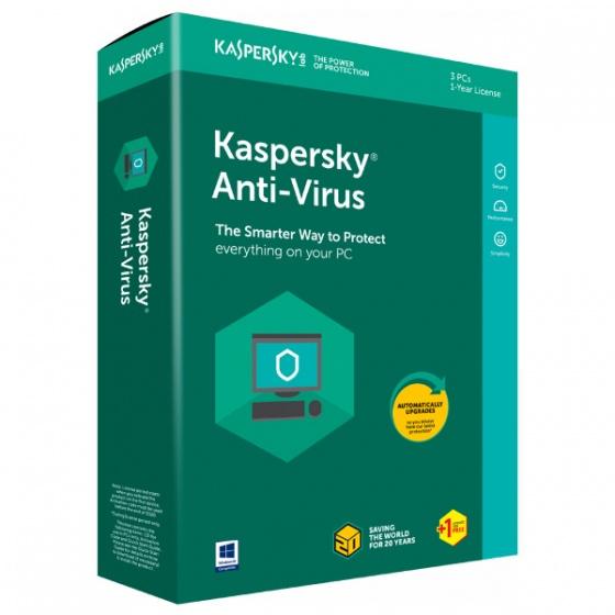 Kaspersky Antivirus 2018 1 korisnik, Retail