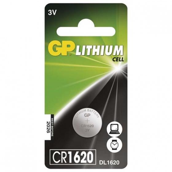 GreenPower baterija dugmasta CR1620 1/1 Lithium