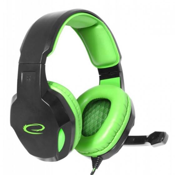 Esperanza Headset Cobra EGH350G Gaming zelene