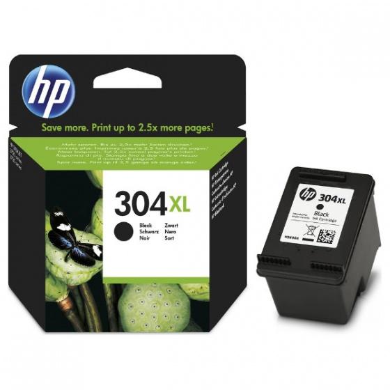 HP Tinta N9K08AE (No.304XL) Black