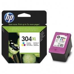 HP Tinta N9K07AE (No.304XL) Tri-Colour