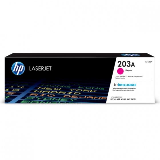 HP toner CF543A (203A) Magenta