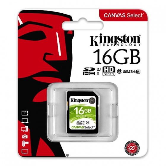 Kingston MC SDHC 16GB Class 10 UHS-I, SDS/16GB