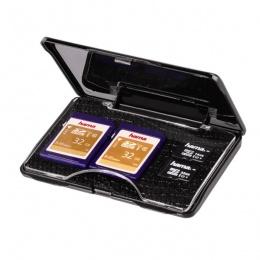 Hama kutija za memorijske kartice Smart crna (95977)