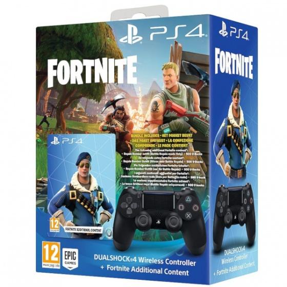 Sony DualShock za Play Station 4 Black+ Fortnite VCH