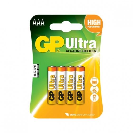 Baterija GP AAA 1,5V Ultra blister 4/1 B1911