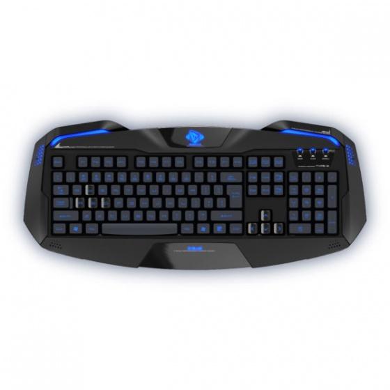 E-Blue tastatura AUROZA RGB Black
