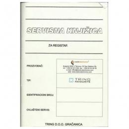 TREMOL - Servisna knjižica