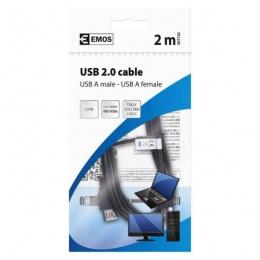 Emos USB produžni 2.0 A/M-A/F 2m SD7102