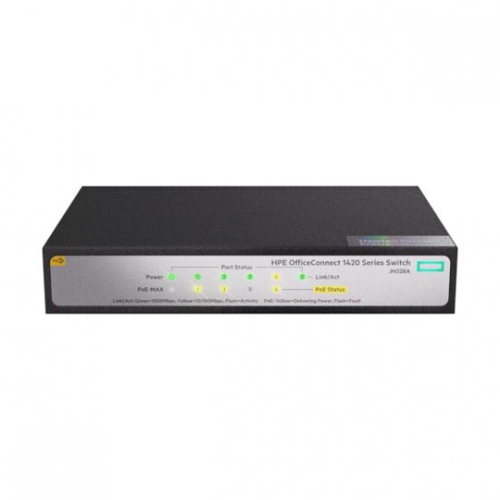 HPE 1420 5G PoE+ (32W) Switch